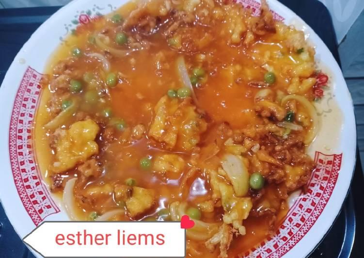 Cara Mudah memasak Fuyunghai mekar chrispy.ala chinese food istimewa