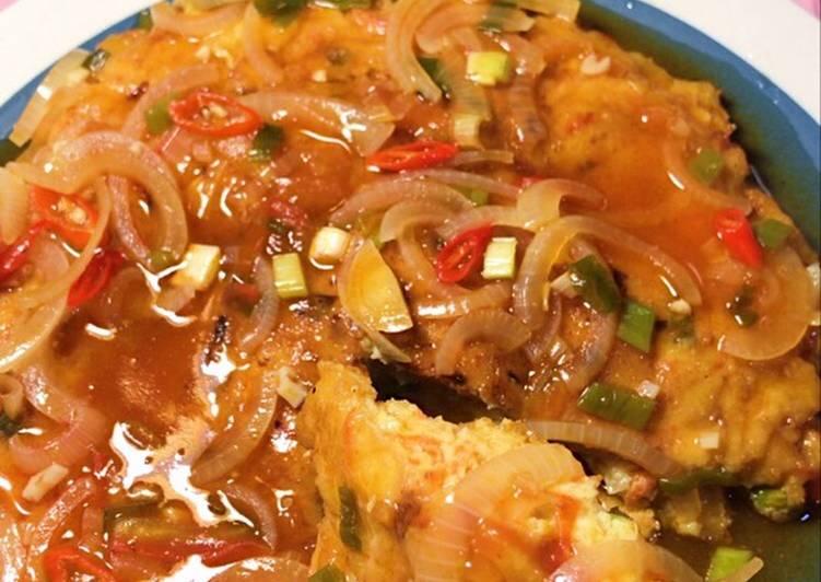 Resep: Fuyunghai Ayam Tebel dan Ngembang ❣️ istimewa