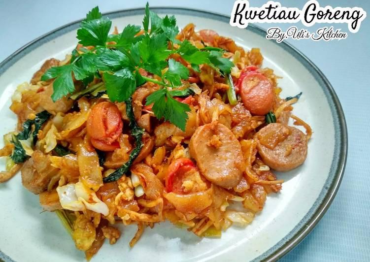 Cara Mudah membuat KWETIAU GORENG ENAK Ala Uli's Kitchen