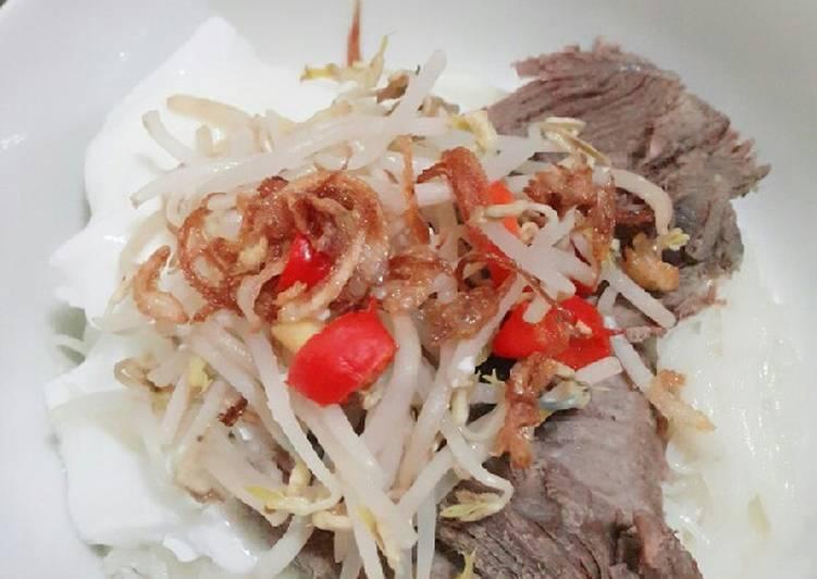 Resep: Kwetiau daging sapi