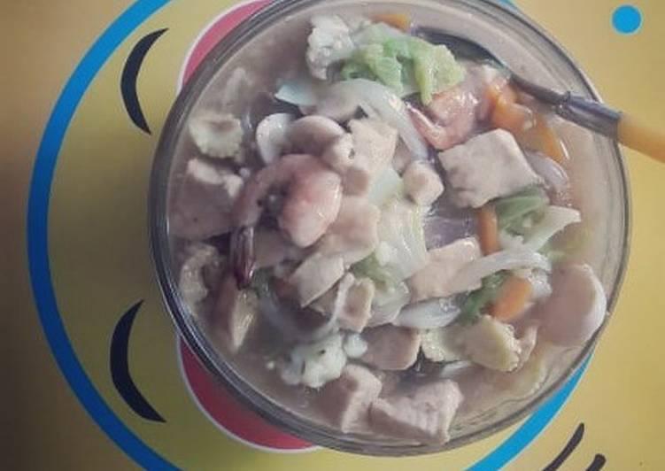 Cara memasak Sapo tahu enak
