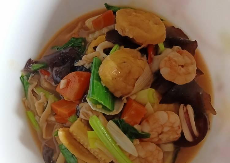 Resep: Sapo Tahu seafood