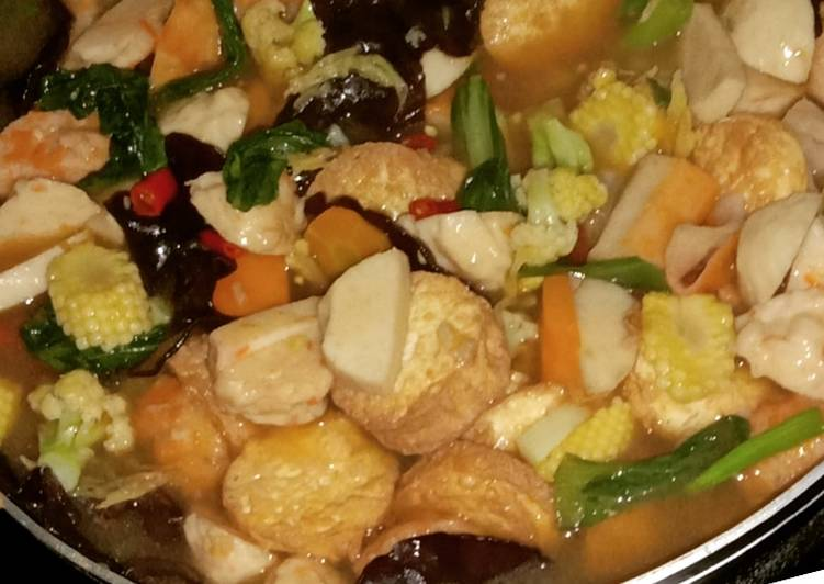 Resep memasak Sapo tahu seafood lezat