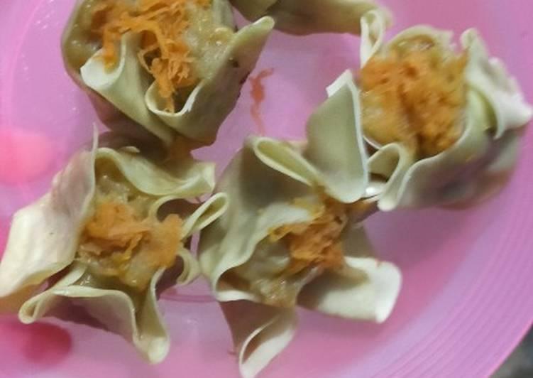 Resep: Somay ayam udang(dimsum ayam udang) rumahan istimewa