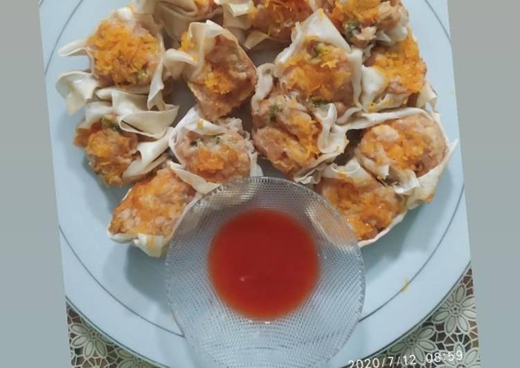 Resep: Dimsum Ayam dan Udang enak