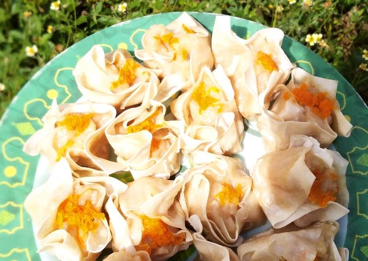 Cara mengolah Dimsum ayam jamur lezat