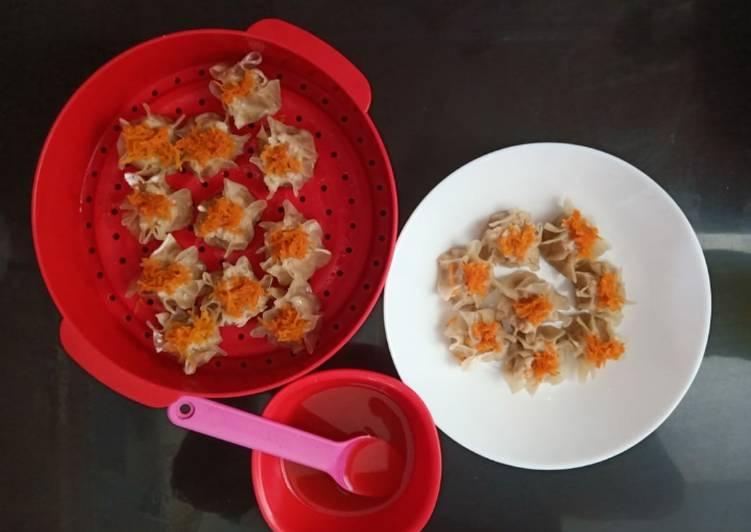 Resep mengolah Dimsum ayam udang simple