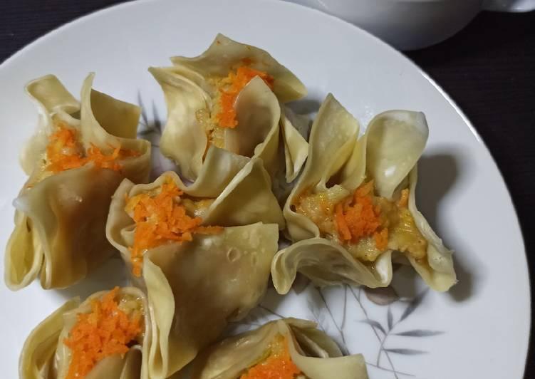Resep: Dimsum Ayam kukus Rice Cooker