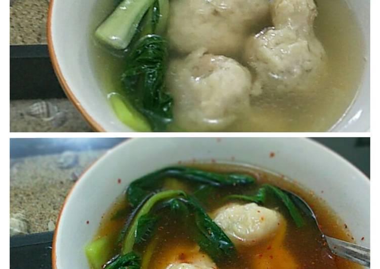 Cara memasak Wonton soup