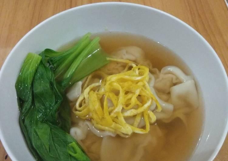 Resep: Wonton sup (sup pangsit)