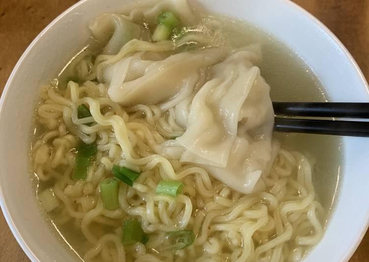 Resep: Chicken Wonton soup istimewa