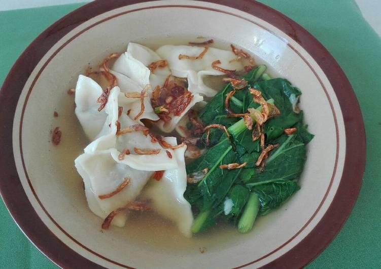 Resep Membuat Wonton Soup Ayam, Makanan ala Thailand
