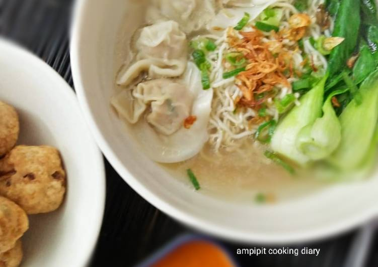 Resep: Wonton Noodle Soup / sup wonton