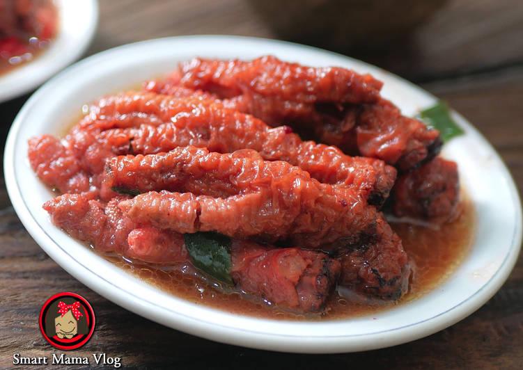 Cara Mudah memasak Dimsum Ceker Ayam/Dimsum kaki ayam/ Angsio ceker ayam