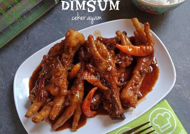 Resep membuat Dimsum ceker ayam