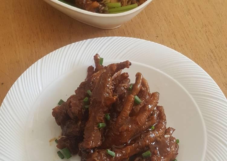 Resep membuat Ceker ala chinese lezat