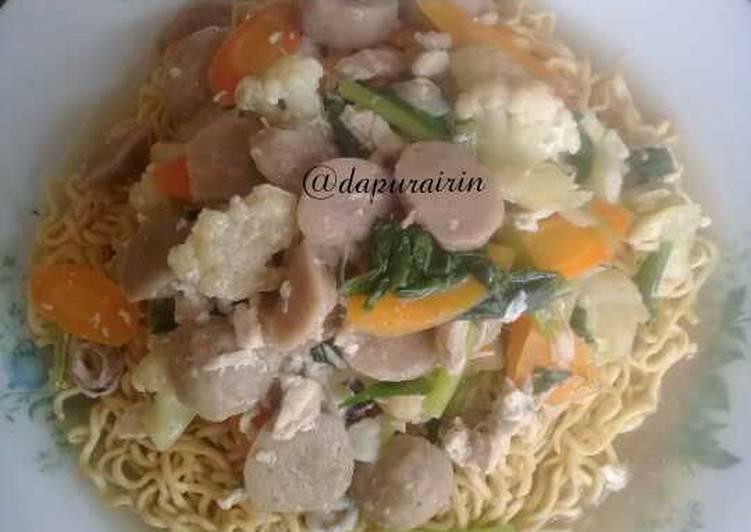 Cara memasak Ifu mie