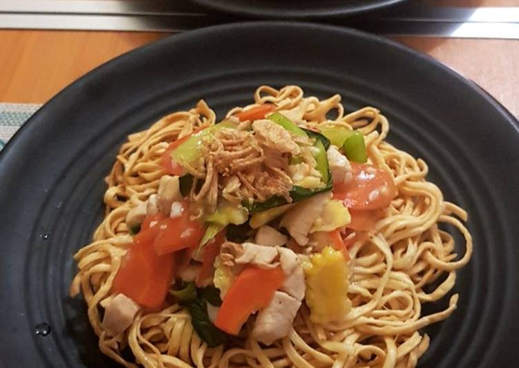 Resep: I fu mie capcay simple