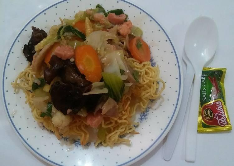 Cara memasak I fu mie #PR_cincaylaah