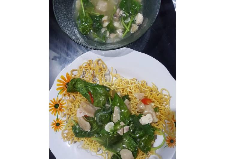 Cara Mudah membuat Mie titi / ifumie / tamie dengan bahan seadanya lezat