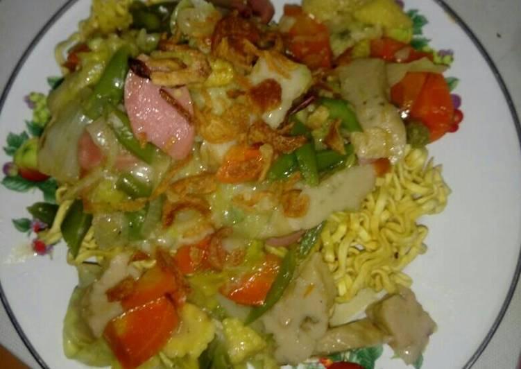 Resep memasak IFu mie sederhana