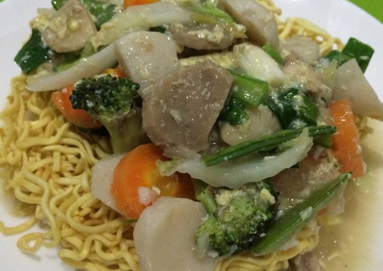 Cara membuat I fu mie enak