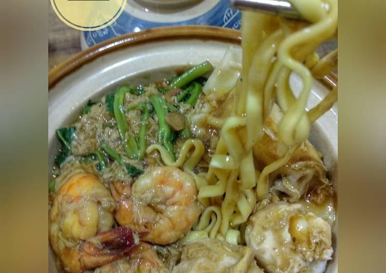 Resep mengolah Lomie udang & bakso ikan #RabuBaru_Cookpad #BikinRamadanBerkesan istimewa