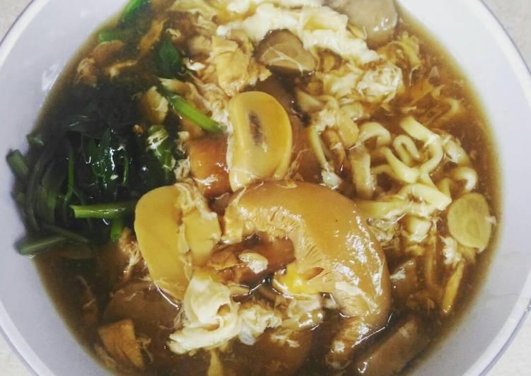 Cara Mudah memasak Lomie sehat non msg enak