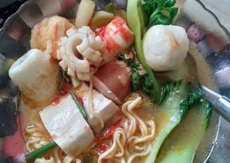 Resep mengolah Suki Tomyam homemade istimewa