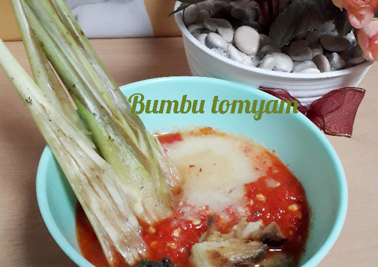 Resep membuat Bumbu tomyam simpel(bisa jadiin frozen)