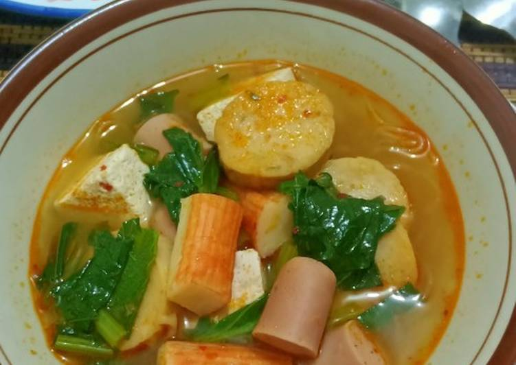 Resep membuat Steamboat / suki kuah tom yam