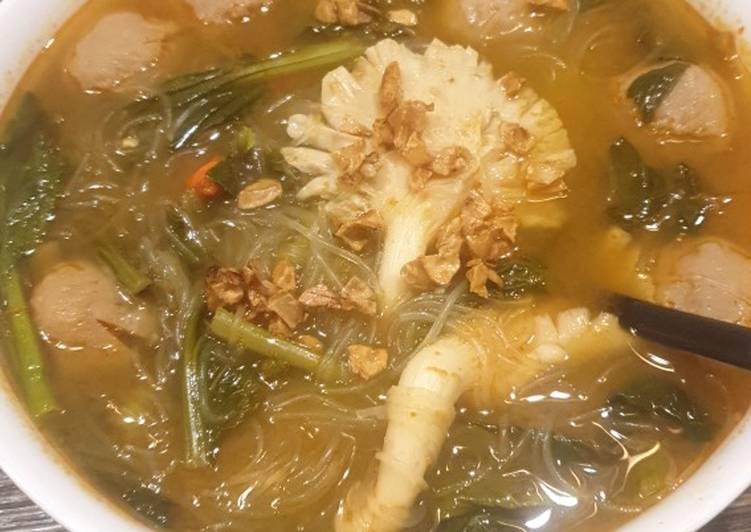 Cara Mudah memasak Tom Yum Goong