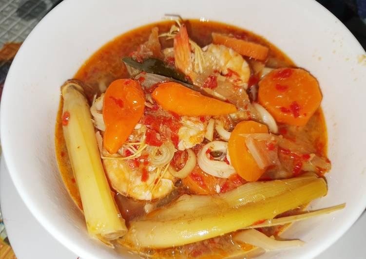 Resep: Tomyam seafood enak