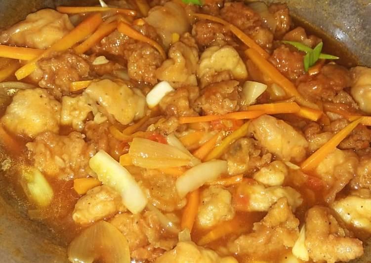 Resep mengolah Koloke ayam
