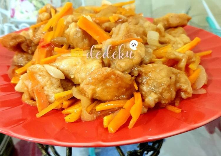 Cara membuat Koloke Ayam (olahan ayam praktis)