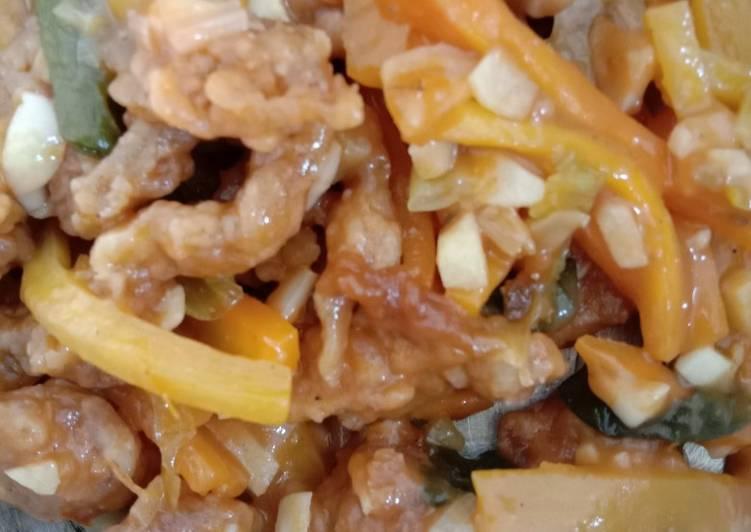 Resep: Jamur asam manis (mirip koloke)