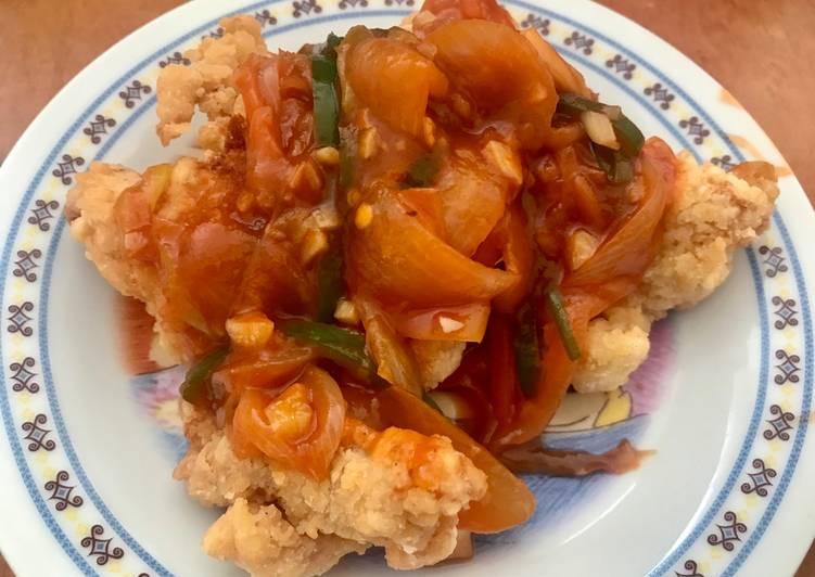Resep: Ayam Kuluyuk (Asam Manis) ala Wilgozz istimewa