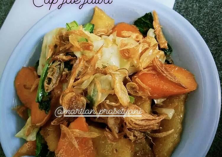 Resep: Cap jae/capjay jawa lezat