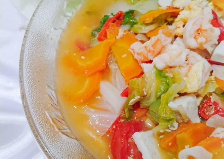 Resep memasak Capjay seafood rumahan istimewa