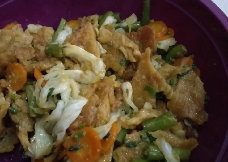 Resep: Capjay goreng jawa lezat