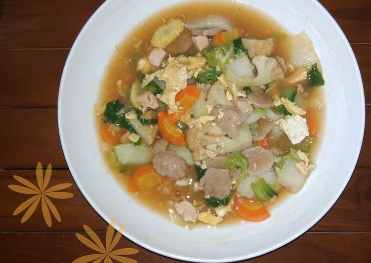 Resep membuat Capjay Kilat ala Chinese resto
