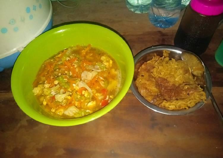 Cara Mudah memasak Capjay kuah sederhana