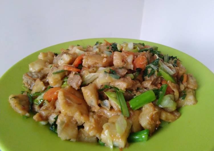 Resep mengolah Capjay (capcay jawa)