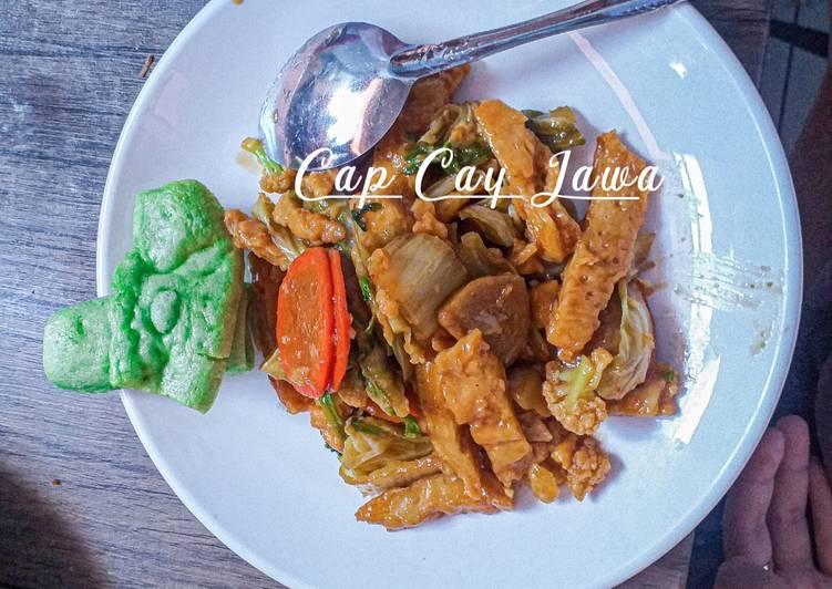Resep: Cap Cay Jawa ala rumahan
