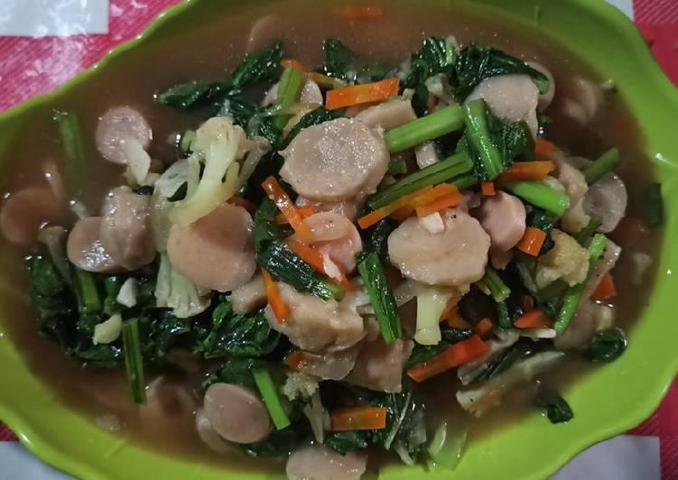 Resep: Cap cay sayur simpel enak lezat