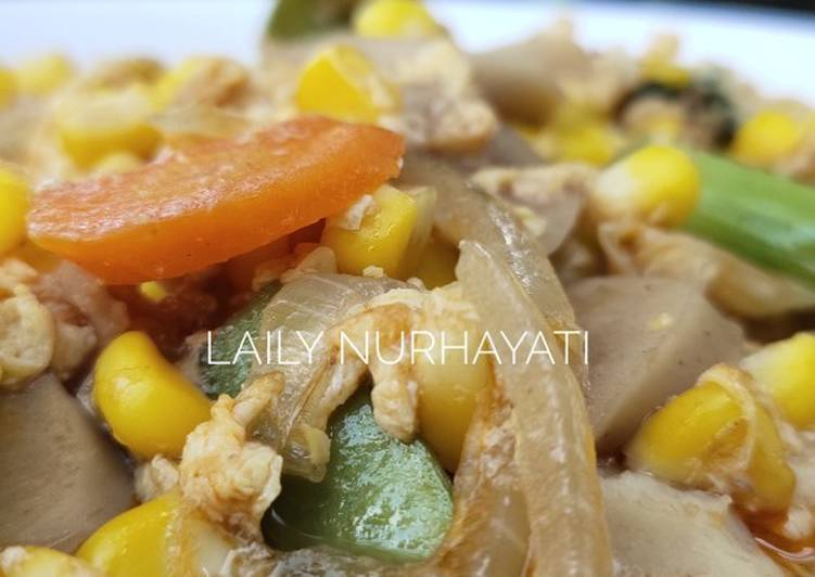 Cara Mudah mengolah Cap cay sehat anti ribet ala chef Muhammad lezat