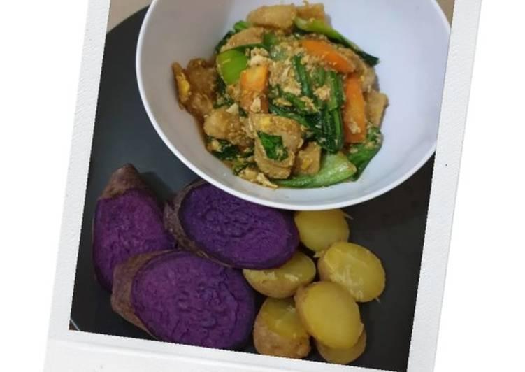 Resep mengolah Cap cay Bakso Shirataki (Diet Cooking) istimewa