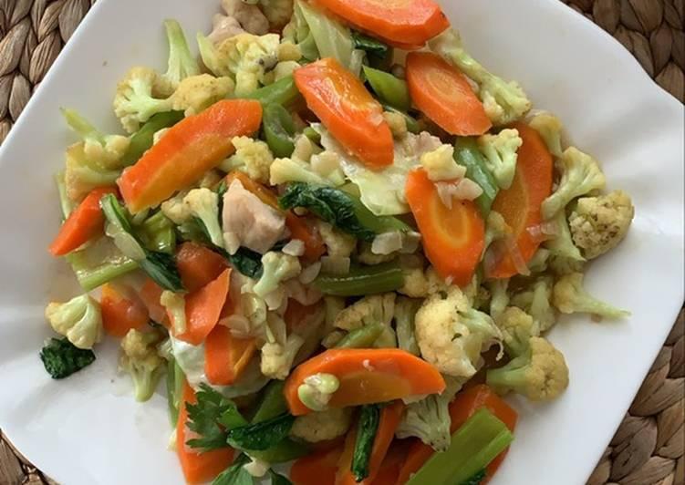 Resep memasak Cap cay goreng