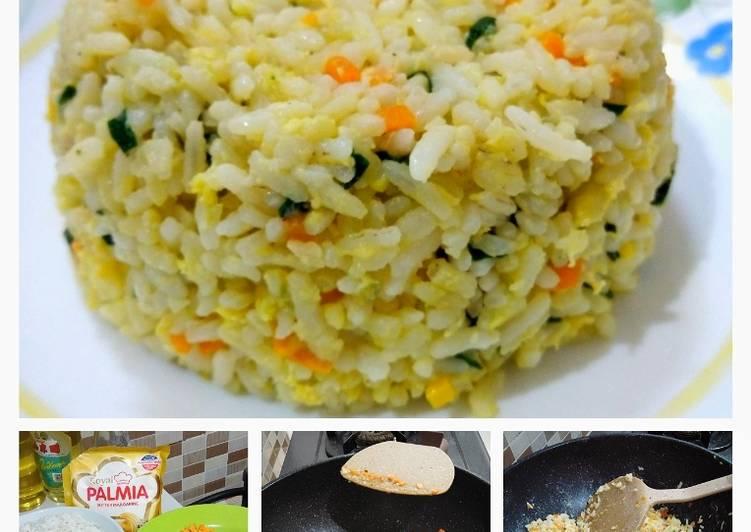 Resep: Nasi Goreng Telur ala Korea
