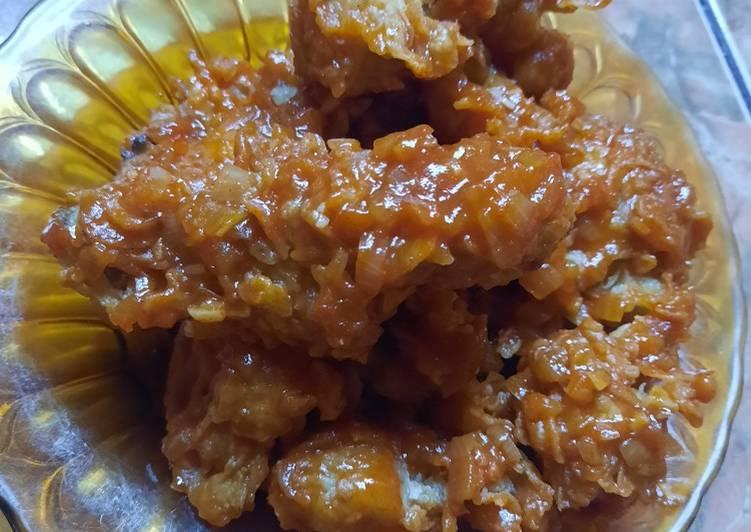 Resep: Yangnyeom Tongdak (korean food)